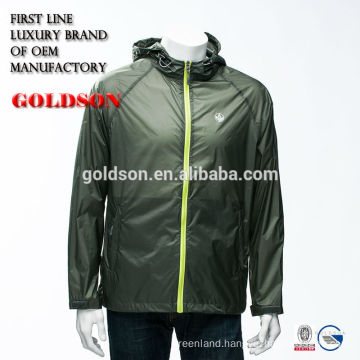 Mens Sports Casual Jacket Popular Style Nylon Breathable And Waterproof Fabric